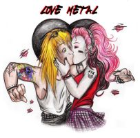 love metal by alamcete