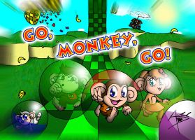 Old Contest Pic: Monkey Ball by Arbok-X