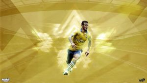 Wilshere Wallpaper by napolion06