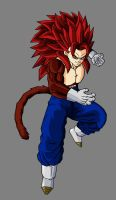 Vegetto SSJ4 by theothersmen