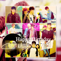 Happy Birthday Minho by MissNSomerhalder
