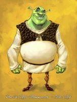 Shrek Concept Color. by RoloMallada