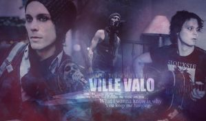 Ville Valo Banner No. 7 by Maggiesgirl