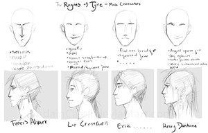Rogues of Tyre-- Male Cast by Adcacai