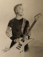 James Hetfield by Nasuki100