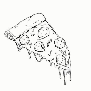 Pizza by ZombieSharks