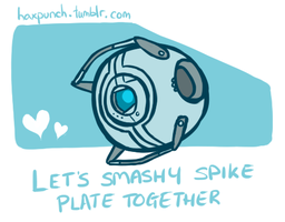 Wheatley Valentine by HaxPunch