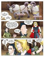 Thor and Loki to the Giantlands-02 by theperfectbromance