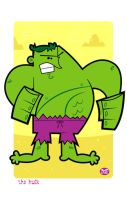 The Incredible Hulk by Montygog