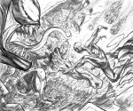 Spiderman in pencil by dfbovey