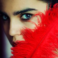 RED by Rebeca-Cygnus