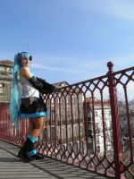 Miku at Portusaki by Angiepureheart