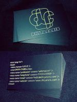 Dhiya Faris Business Card by dhiyafaris