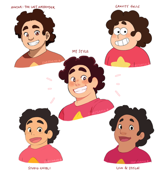 Style Challenge ft. Steven!!!! by origami-guru