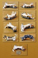 Welsh Corgi sculpture by Tephra76