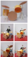 Papercraft of Ben by TessaChen