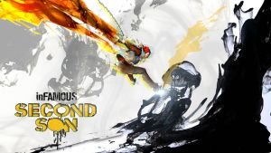 Infamous - Second Son Smoke Painting by VertiGo-Official