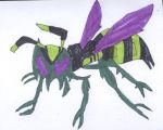Waspinator In His Beast Mode by HazardFire715