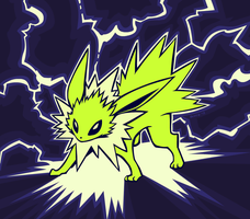 Day 13: Electric - Jolteon by avroillusion