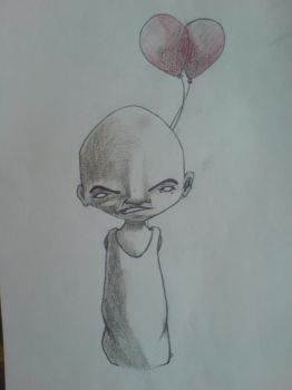 Baloon man by pedream