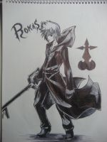 Roxas by AnonAzure