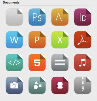 iOS 7 Documents by iynque