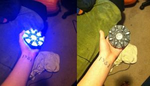 New Arc Reactor by AcE-oFkNaVeS