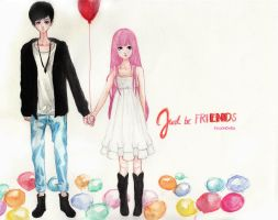 Just Be Friends by pinkmonra