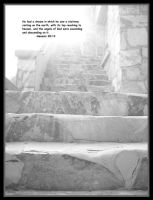Stairway to heaven - Gen 28:12 by trinity343