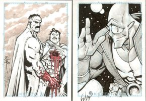 More sketch cards by RyanOttley