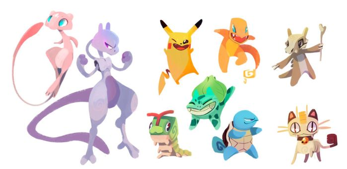 some more pokemons by Energony