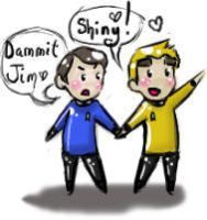 SHINY Kirk and Bones by l-Reflet-Palissant-l