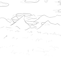 A small animation, sketch by Uglypenguin