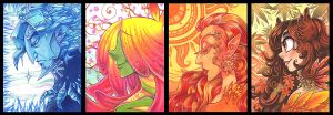 The seasons by Fluro-Knife