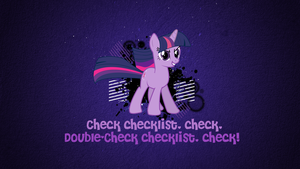 Check Checklist Wallpaper by FoxDesigns93