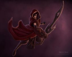 Crimson Cloak Stuff 1 by pinkhavok