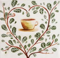 Love for tea by ArtAnda