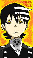 Soul Eater Death the Kid Color by enjoytheride201