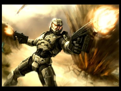Master Chief by EspenG