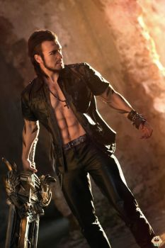 Gladiolus DLC - Final Fantasy XV Cosplay by Leon C by LeonChiroCosplayArt