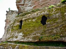 old castle walls4 by archaeopteryx-stocks