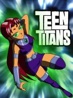 Starfire Poster by Mono-Phos
