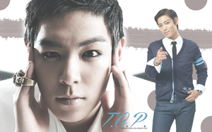 T.O.P. wallpaper - Second version by edinaholmes