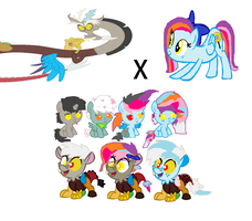 Dolly FlashXDiscord MLP FIM ADOPTABLE! by cottoncloudyfilly