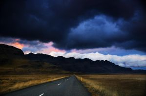 Icelandic roads 5 by Yazhubal