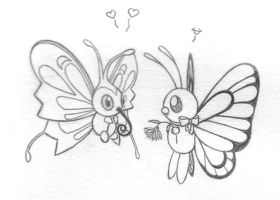 Butterfly Love by sunnyfish