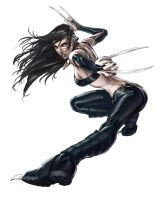 X-23 Tutorial for ImagineFX by alvinlee