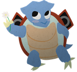 Blastoise By Himself by Scaramouche-Fandango