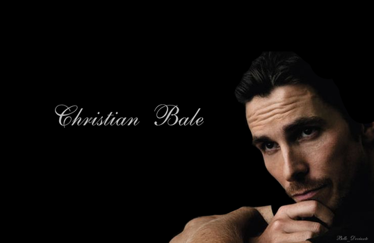 Christian Bale #1 by Belle-Deviante