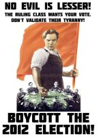 Boycott the 2012 Election! by wulfric82